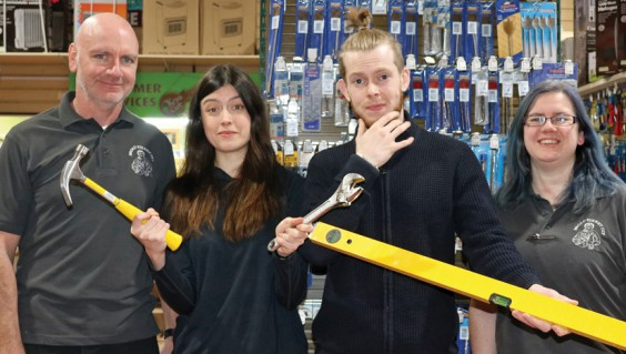 Broad St DIY team